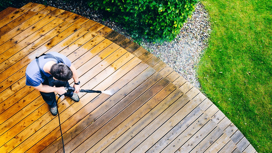 deck cleaning southern maryland